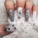 Снежни маникюри - зимно вълшебство върху ноктите (Снимки):