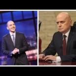 Сблъсък между двама шоумени и две телевизии-Слави и Николаос