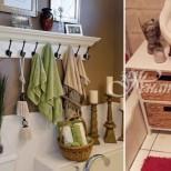 24 гениални идеи за повече място в малката баня (Галерия)
