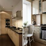 20 начина как да направим кухня от 4кв.м да изглежда 12кв.м.- супер просторна и да има място за всичко (снимки)