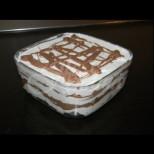Медена торта с кисело мляко