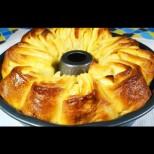 Ябълкова пита с крем - пухкаво тесто, сочни ябълки и вкусна заливка! Райска наслада за делник и празник: