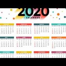 Всички официални празници и почивни дни за 2020 година