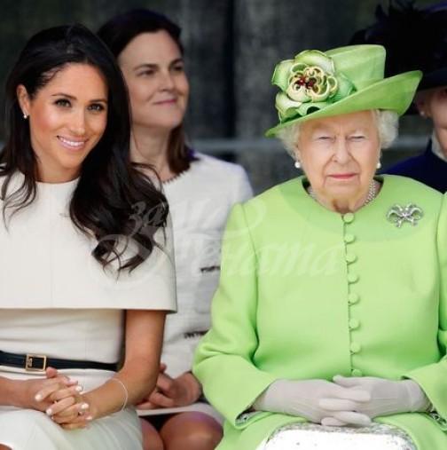 Кралица Елизабет II с пореден подъл удар към Меган Маркъл