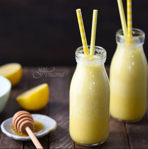 Кисело мляко, лимон и куркума и се стопявате за две седмици