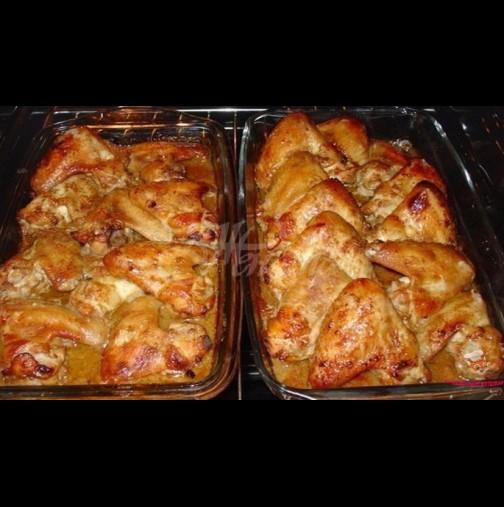 Пилешки крилца Оближи пръсти - хем излизат по-евтино, хем стават умопомрачително вкусни: