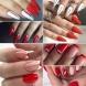 Луксозен червен лак-Арт маникюр в красиви нюанси за смели жени