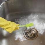 1 лъжица и забравих какво е да мирише канала и да се запушва мивката