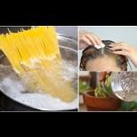 Вкъщи е забранено да се хвърля водата от макароните - с нея поливам цветята, прави чудеса с косата и още куп ценни приложения: