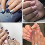 Стилни идеи за моден маникюр за къси нокти