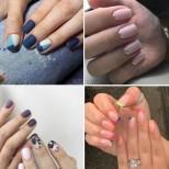 26 стилни идеи за моден маникюр за къси нокти (и много къси) 2020 г.