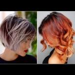 Най-доброто от сезона за дами с безупречна визия - 30+ идеи за прическа за среднодълга и къса коса (Снимки):