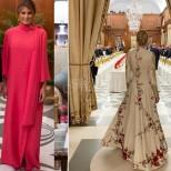 И Мелания и Иванка Тръмп озариха приема с красивите си рокли