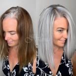 15 гениални прически, с които белите косми да не се забележат, а да изглеждат модерно (снимки)