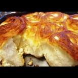 Царски тутманик за царска закуска - пухкав, целия на конци и пълен със сирене! И трошичка няма да остане: