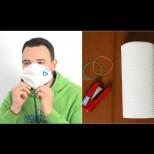 Ето как да си направим сами маски за защита от вируси - струват стотинки, а пазят по същия начин! (Снимки):