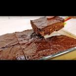 Потресаващо вкусен суров сладкиш - 100% шоколадов разкош без захар и без печене: