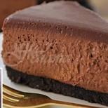 Шоколадов чийзкейк без печене- красавецът на всички десерти и по вкус и по визия