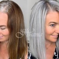 15 прически, с които успешно ще скриете бялата коса (Галерия)