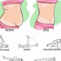 За две седмице дават резултат тези упражнения за плосък корем у дома или в офиса