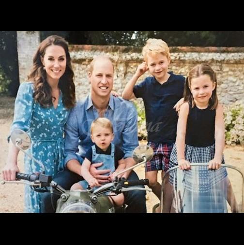 Съмнение за коронавирус хвърли в паника Кейт и Уилям - страхуват се за децата си (Снимки):