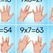 Лесен начин да научим детето да умножава на ум