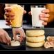 Чаша мляко, чаша настърган кашкавал и става божествена вкусотия! Фантастични пълнени кашкавалки за закуска (Видео):