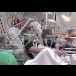Ужасяващи СНИМКИ от болницата в Бергамо: Слагат на пациентите пластмасови балони