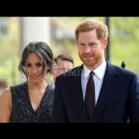 Щастливи въпреки всички: Меган и Хари сияят на последната си изява - херцогинята блести в яркочервено (Снимки):