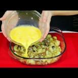 Бърза вечеря с картофки за всеки джоб - заливаш, запичаш и става страшна вкусотия!