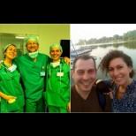 Вместо меден месец - коронавирус! Лекари-младоженци доброволно се изолираха в Пирогов, за да помагат на заразените: