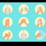 Миете ли се по този начин ще убиете 99% от бактериите по ръцете ви