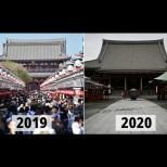 12 световни забележителности преди и след пандемията с коронавируса (Снимки):