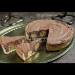 Шоколадово-бананова торта без печка и миксер - хрупкава основа, пухкав крем и вълнуващ вкус:
