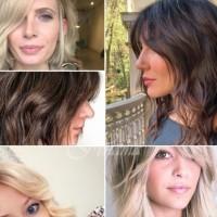 Прически за тънка коса снимки