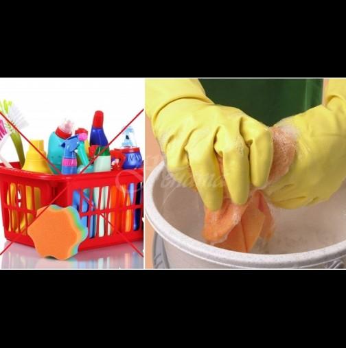 Ето как да защитим дома си от вируси и почистим при липса на дезинфектанти