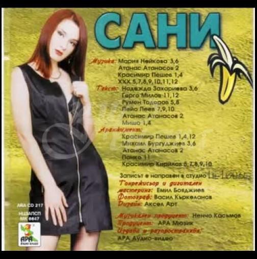 Помните ли певицата Сани, която пееше Ах, банана? Ето как изглежда днес (снимка)
