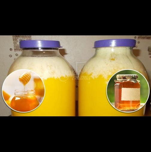 Опасна ли е бялата пяна в буркана с меда? Ето какво означава тя всъщност: