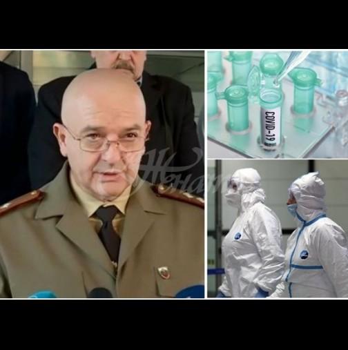 Ген.Мутафчийски с последни данни от щаба: Още една жертва на вируса, заразените се увеличиха, ново огнище на вируса: