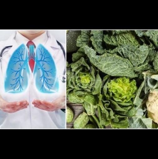 Храните, които бронират дробовете срещу коронавируса и други дихателни заболявания: