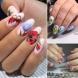 Пролетни маникюри с цветя и пеперуди