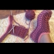 Как да си изплетем модерни чехли сами (видео)