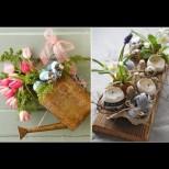 20 разкошни идеи за великденска украса - лесни и ефектни (Снимки):