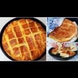 Тутманик-разкош с масло и сирене - разграбва се горещ, направо от тавата!