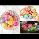 Бързи, лесни и много ефектни: Ето как да си направим мраморни, акварелни и геометрични яйца (Снимки):
