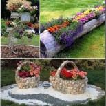 20 ярки и невероятно креативни идеи за цветята в градината - с минимум средства (Снимки):