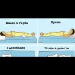 9 лесни позиции за сън, които премахват най-честите болежки: