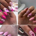 Розови маникюри колекция