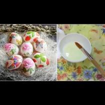 Така стават най-красивите великденски яйца - без боя и лак за нокти, бързо и лесно (Снимки):