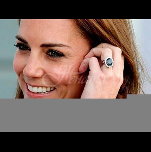 Кейт Мидълтън направи нещо немислимо с наследството на принцеса Даяна заради карантината  (Снимки):